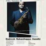 Rudresh Mahanthappa poster 2011-09-30
